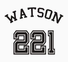 Watson Jersey Number 221 by vestigator