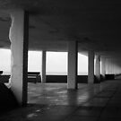 Under the promenade by Tony Hadfield