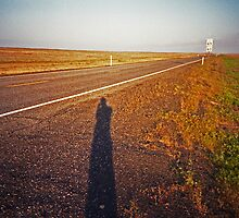 Shadow and Road by jhorsager
