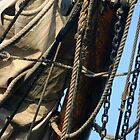MAST,SAIL,CORDS& CHAINS by Karo / Caroline Evans (Caux-Evans)