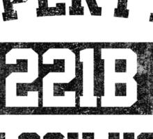 Property of Sherlock Holmes Sticker