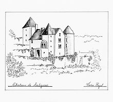 Chateau de Salignac by Escarlata