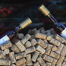 Wine and Corks by Donna Sherwood