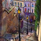 Paris Montmartre by Yuriy Shevchuk