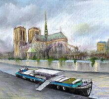 Paris Notre-Dame de Paris by Yuriy Shevchuk