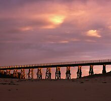 Kilcunda rail bridge by Tony Middleton