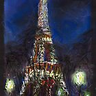 Paris Tour Eiffel  by Yuriy Shevchuk