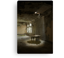table for two Canvas Print