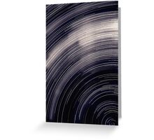 Star trails & south celestial pole Greeting Card