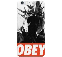 OBEY! Sauron's Witch King iPhone Case/Skin
