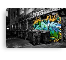 Dash of Paint Canvas Print