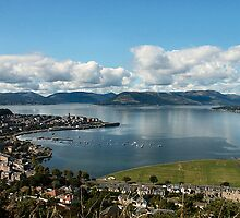 Gourock on the Clyde Scotland by jackitec