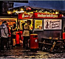 The best hot dog stall in Iceland! by Tim Constable