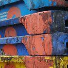 Fish crates by Tony Hadfield