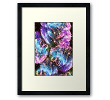 Galaxy Black Hole Framed Print