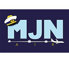 MJN Air  Photographic Print