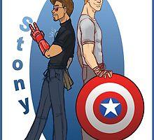 Steve and Tony by DamnSam