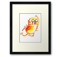 Jake Highfive Framed Print