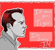 Jim Moriarty by DamnSam
