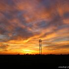 Sunset in Oklahoma by Jamaboop