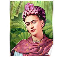 Frida Kahlo - Iconic Mexican Painter Poster