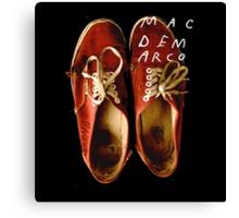 Mac Demarco's Shoes Canvas Print