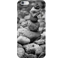 feather and stones iPhone Case/Skin