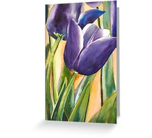 Time for Tulips Greeting Card