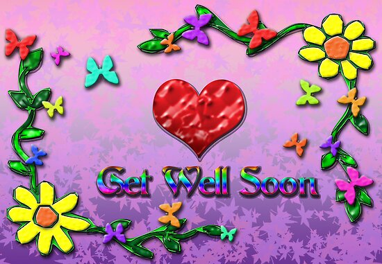 Get well Soon ! by Arthur Carley