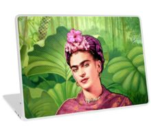 Frida Kahlo - Iconic Mexican Painter Laptop Skin