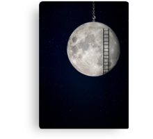 I'll Take You To The Moon Canvas Print
