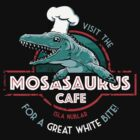 Visit the Mosasaurus Cafe by Tabner