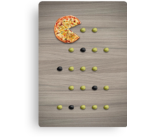 PacPizza Canvas Print