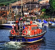 Girvan Lifeboat by Tom Gomez