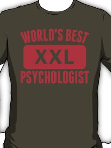 World's Best Psychologist T-Shirt