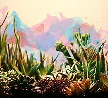 Cactus & Succulents Watercolor by Bailey Taylor