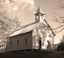 Methodist Church by Gary L   Suddath