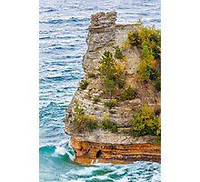 Waves Crash on Miners Castle Photographic Print