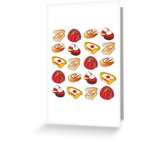 British Pudding! Greeting Card