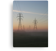 Electric Dawn Canvas Print
