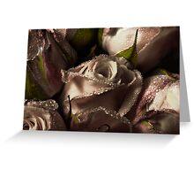 Good morning rose Greeting Card