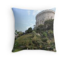 By Yon Tuft Of Trees Throw Pillow