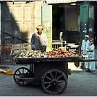 Three Wheeled Street Cart Vendor, Egypt by Mark Ross