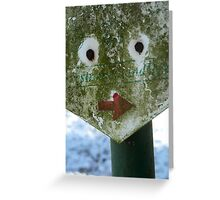 Funny Face - JUSTART © Greeting Card