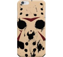 Friday the 13th (Jason Mask) iPhone Case/Skin