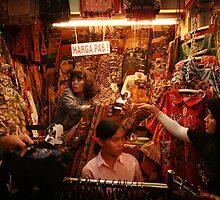 Batik Markets - Yogyakarta - Indonesia by Erin McMahon