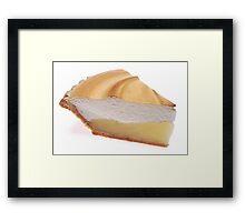 Lemon Meringue Pie Framed Print