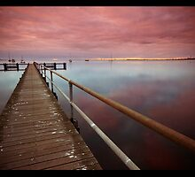 Purple Rain Reflection by Luka Skracic