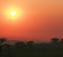 Smokey sunrise by photosbykaren
