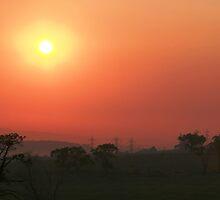 Smokey sunrise by photosbykaren